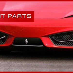 Ferrari 458 Italia Splitter Anteriore carbonio