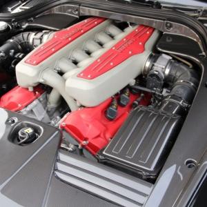 Ferrari 599 paratia laterale Motore carbonio