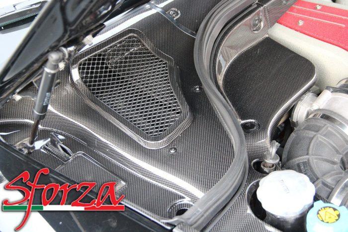 Ferrari 599 sottoparabrezza sinistro carbonio