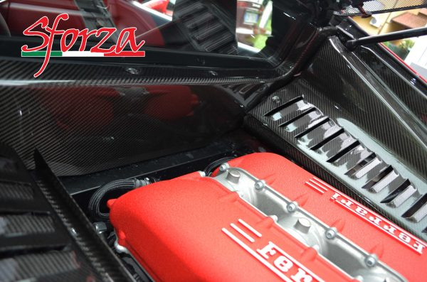 Ferrari 458 Italia carbon firewall panel