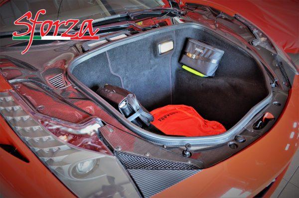 Ferrari 458 Spider front trunk carbon lid panels LHD