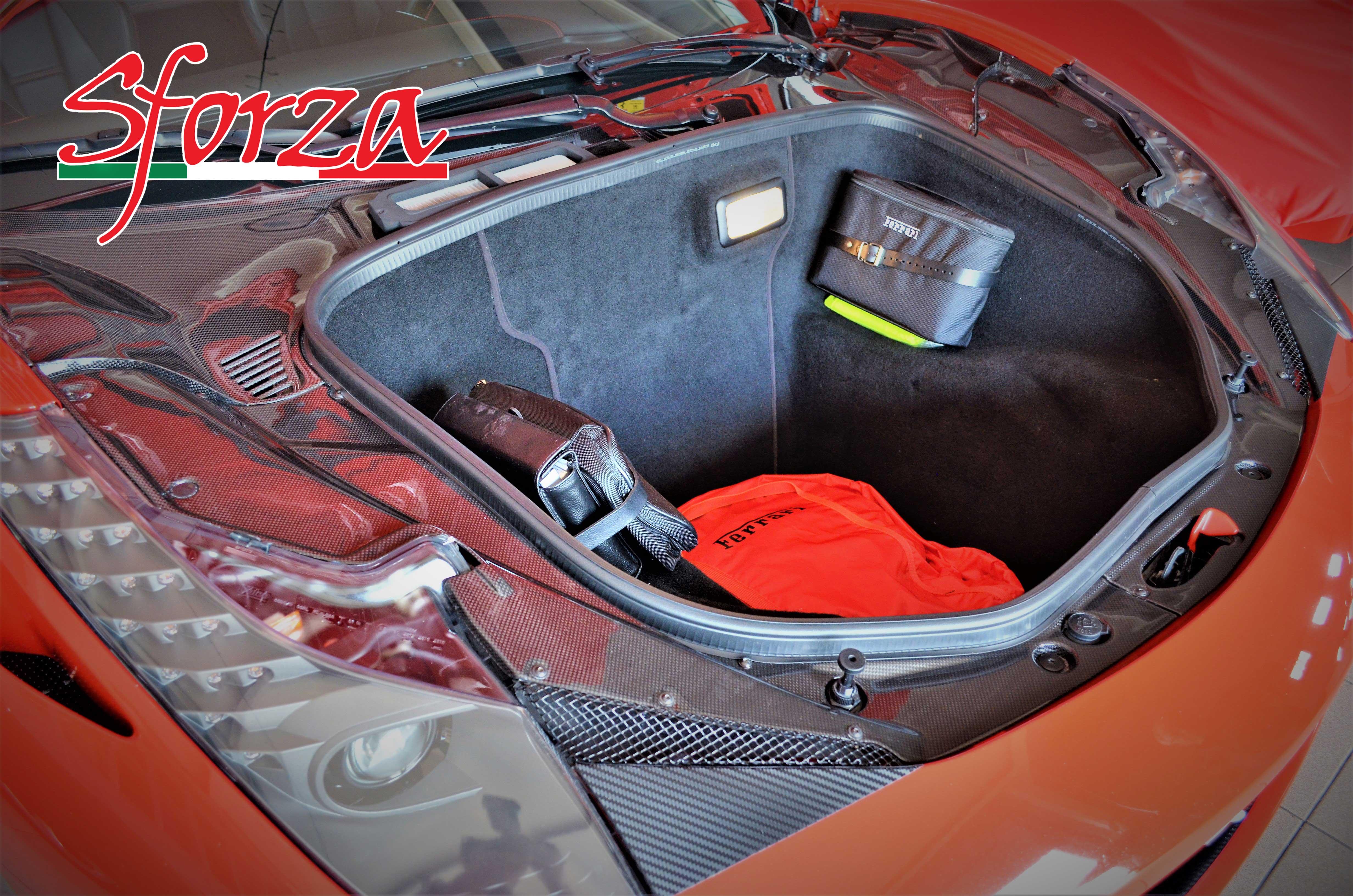 Ferrari 458 trunk
