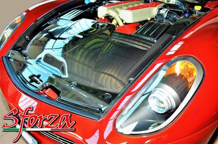 Ferrari 599 rossa vano motore sforza