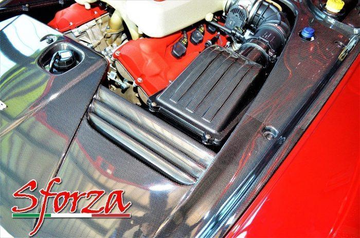 Ferrari 599 carbonio motore rossa