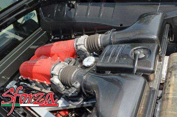 Ferrari F430 filtro airbox carbonio