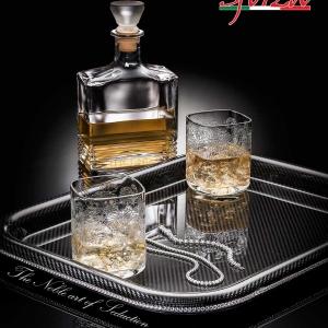 Vassoio Carbonio Sforza whiskey