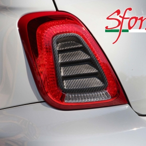 Abarth 595 Louvers carbonio Sforza