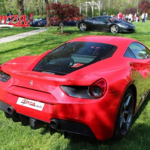 Ferrari 488 Carbon parts Sforza