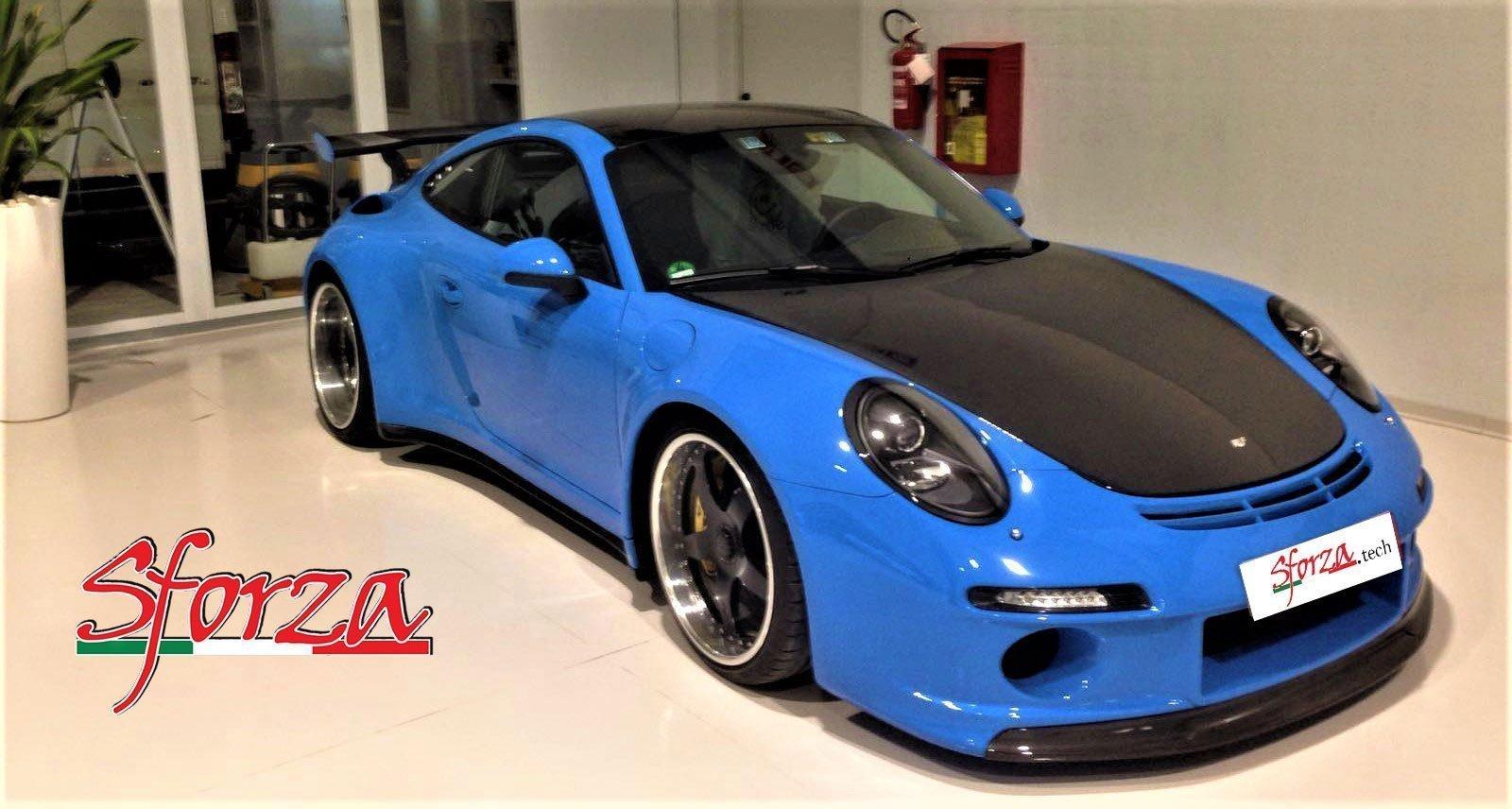 Porsche 911 CTR RUF Sforza Carbon