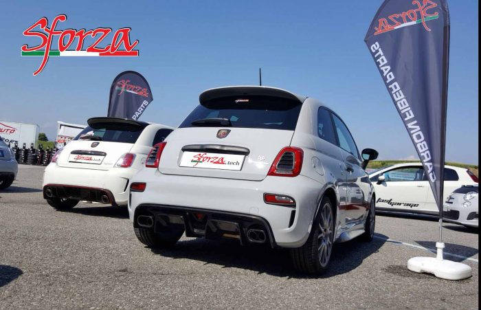 Only Abarth and Show Sforza Paddock