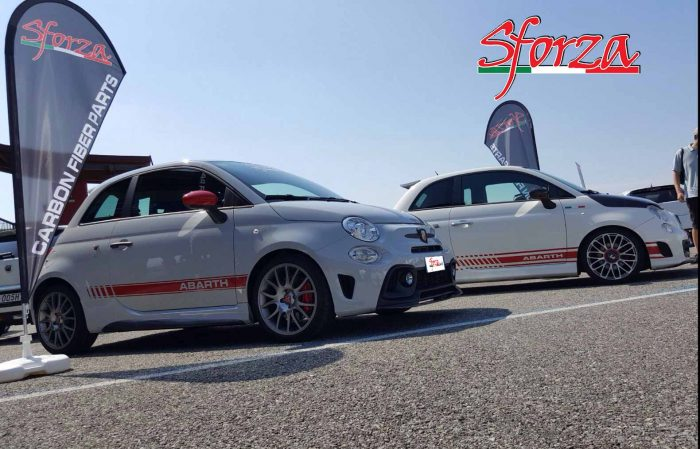Only Abarth and Show Sforza cars