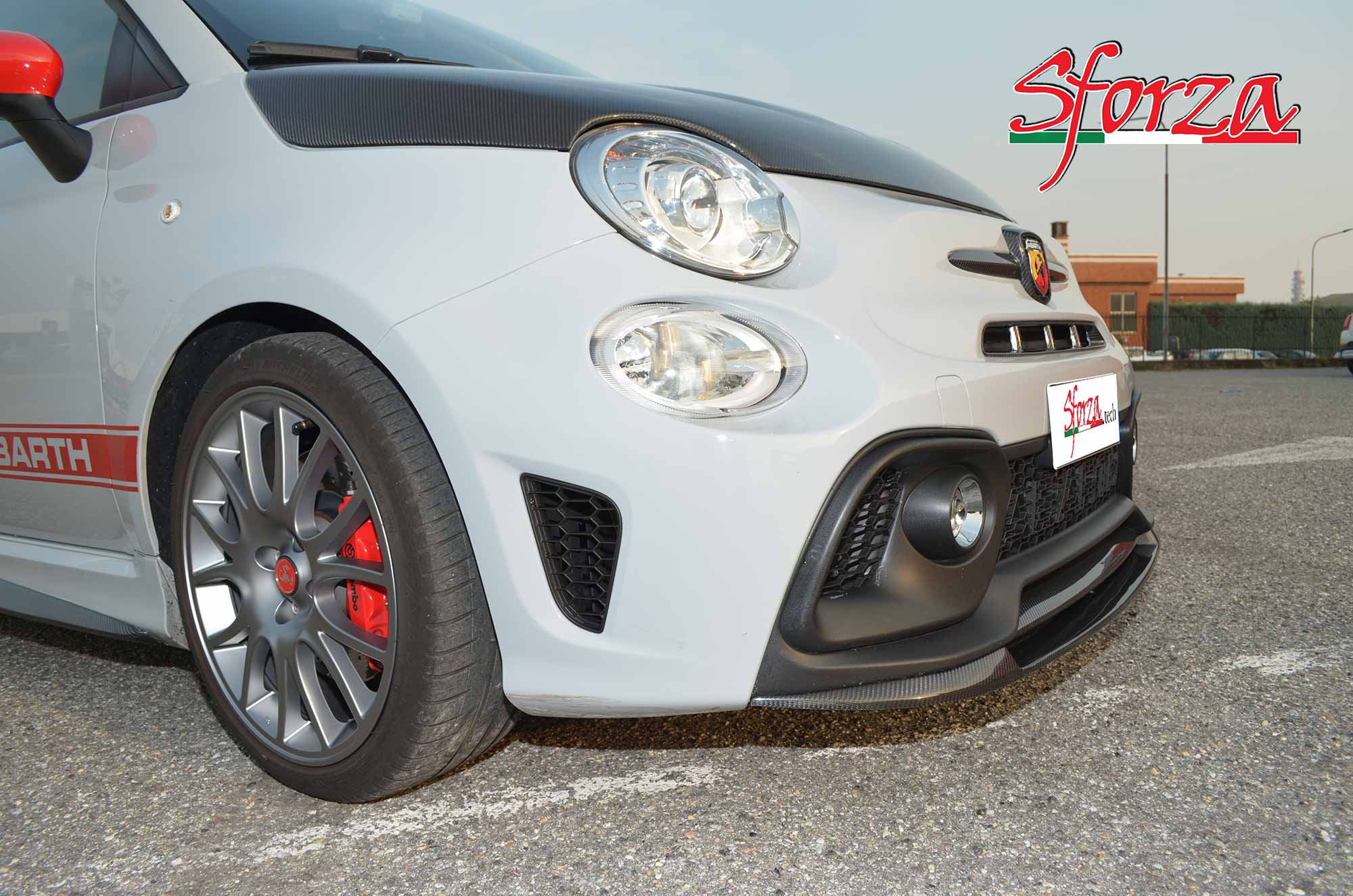 Home / Abarth 595 (2016) / Abarth 595 carbon front spoiler