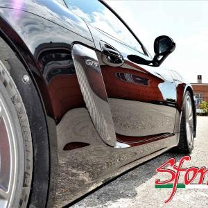 Porsche Cayman GT4 prese d' aria laterali carbonio