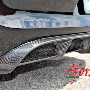 Porsche Cayman GT4 estrattore posteriore carbonio