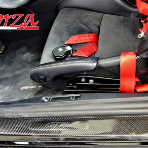 Porsche Cayman  GT4 battitacco carbonio