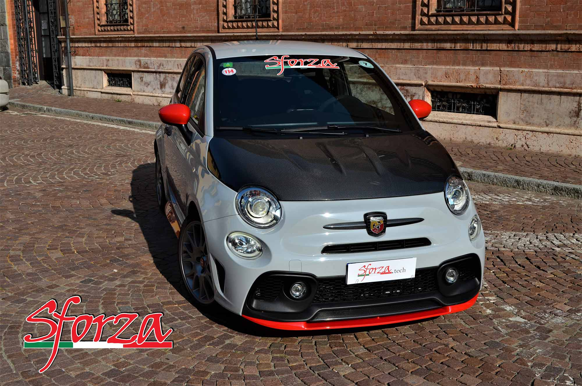 fiat 500 x abarth 2016 with Abarth 595 Spoiler Anteriore Vetroresina on Fiat 124 Spider further Fiat 500x Abarth Rendering Shows Up ing Hot Crossover 98893 also Abarth Punto Evo Esseesse model 10883 also Black White Fiat 124 Spider Abarth Car   Image also Abarth 595 Spoiler Anteriore Vetroresina.