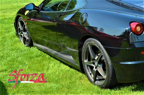 Ferrari F430 Minigonne brancardi sottporta carbonio sforza