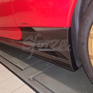Ferrari F430 Scuderia minigonne laterali carbonio
