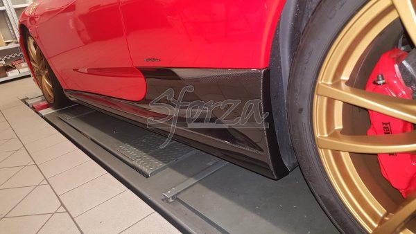 Ferrari F430 Scuderia carbon fiber sideskirts