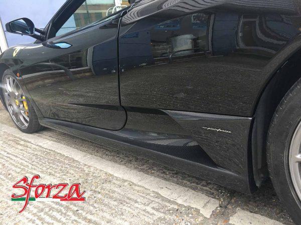 Ferrari F430 Seitenschweller Carbon Sforza