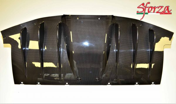 Ferrari 458 Italia carbon fiber rear diffuser
