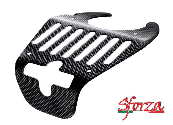 Ferrari 458 carbon lid lock shield engine bay Italia Spider
