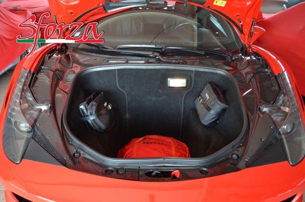 Ferrari 458 Italia Front trunk carbon lid panels  LHD