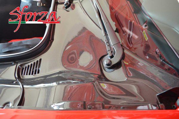 Ferrari 458 carbon front trunk panel LHD