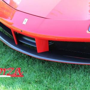 Ferrari 488 Spoiler Anteriore Carbonio