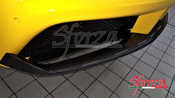 Ferrari 488 GTB Spoiler anteriore carbonio a vista