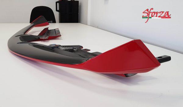 Ferrari 488 GTB Carbon front spoiler red scuderia