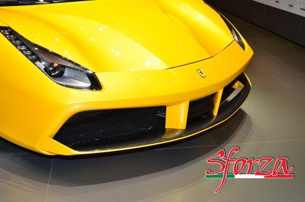 Ferrari 488 Carbon Front SPlitter