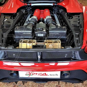 Ferrari F430 Spider Engine bay panels carbon