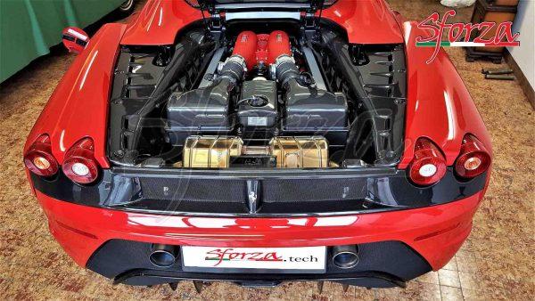 Ferrari F430 Spider Engine bay panels carbon