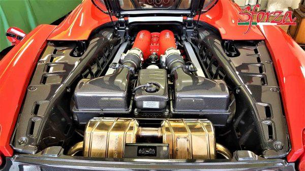 Ferrari F430 Spider Motorraumverkleidung Carbon