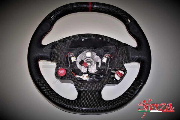 Ferrari F430 insertatura volante carbonio