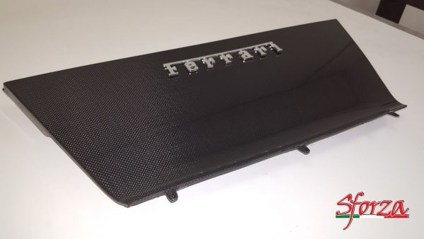 Ferrari 488 Carbon rear engine compartment