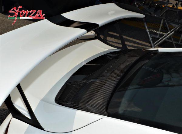 Porsche 911 991 GT3 RS Carbon Trunk Cover grill