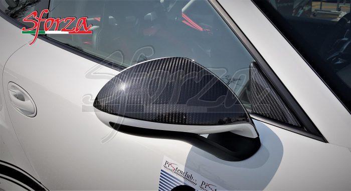 Porsche 911 991 GT3 RS Rivestimento Calotte Specchietti Carbonio