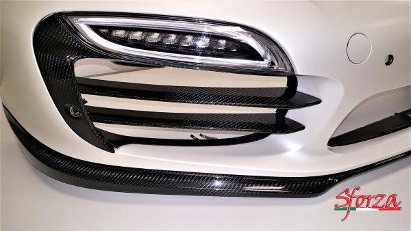 Porsche 911 991 Turbo MK1 Ali paraurti Carbonio Sforza