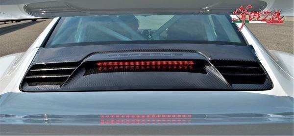Porsche 911 991.1 GT3 RS Carbon rear trunk cover grill