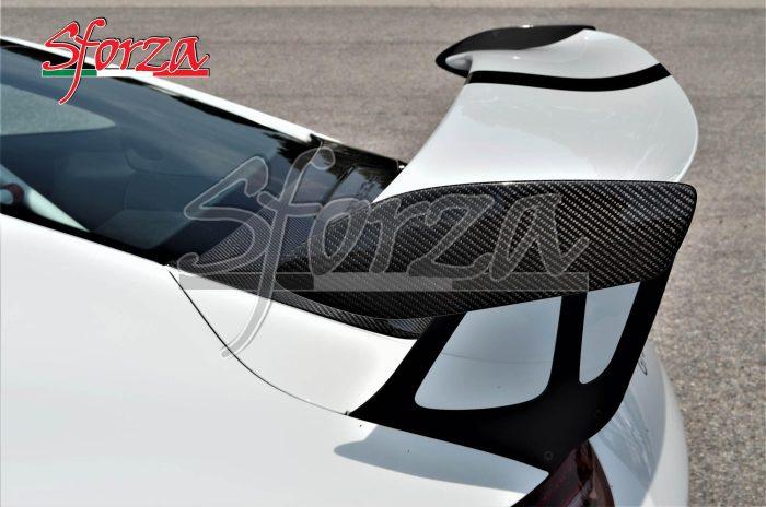 Porsche 911 991.1 GT3 RS pattelle laterali alettone carbonio