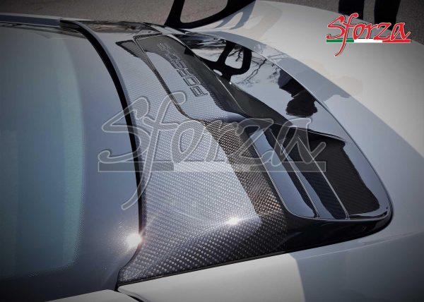 Porsche 991 991.1 GT3 RS Griglia Baule Posteriore Carbonio