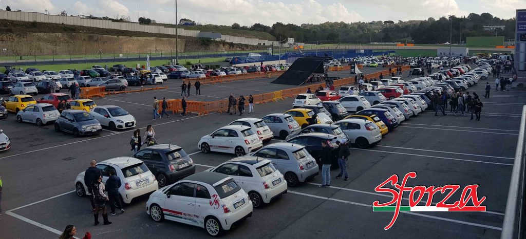 Abarth day 2018 vallelunga paddock 2