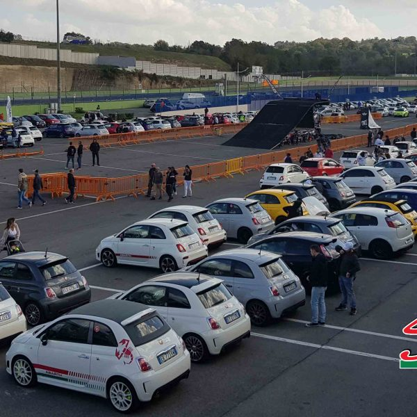 Abarth day 2018 vallelunga paddock 2