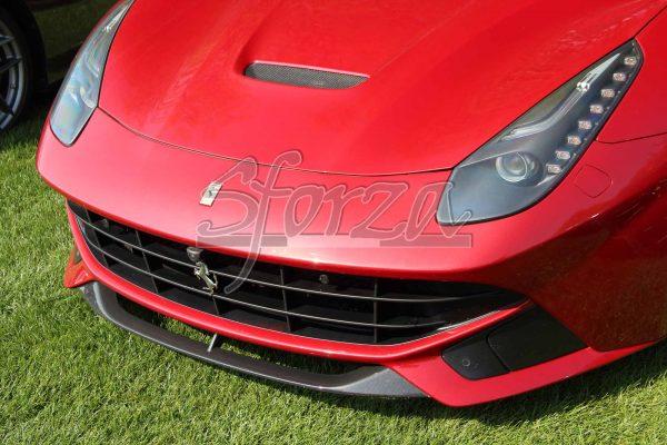 Ferrari F12 Spoiler anteriore carbonio rosso