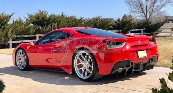Ferrari 488 GTB 2019 rosso corsa brancardi pista