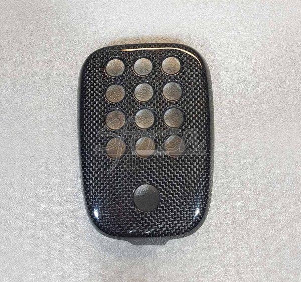 Ferrar 488 cover fendinebbia carbonio posteriore senza telecamera