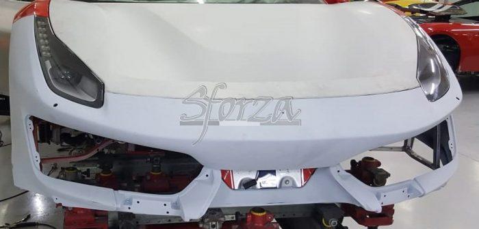 Ferrari 488 Pista paraurti anteriore carbonio EU USA