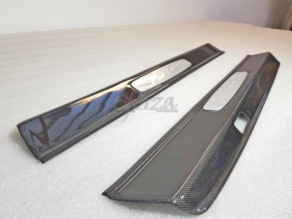 Porsche 911 991 Carbon doors sills plain 1x1